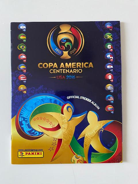 Figurine Panini Copa America 2016