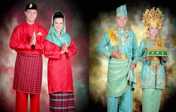 Inilah Pakaian Adat Dari Kepulauan Riau Pria Dan Wanita