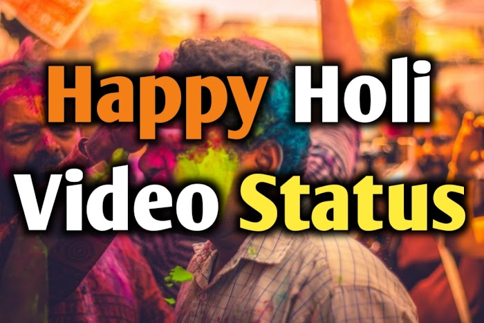 Top 10 Unique Holi Video Status  Hindi or होली Status हिंदी Whatsapp Video