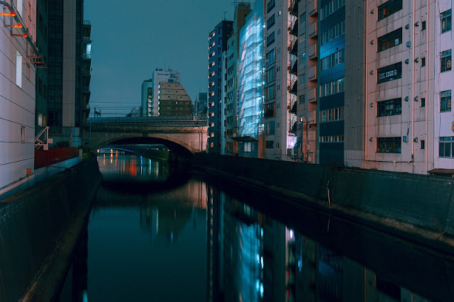 foto por Cody Ellingham, proyecto DERIVE, Tokyo | | cool surreal night city lights | imagenes chidas lindas | awesome photos