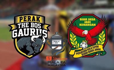 Live Streaming Perak vs Kedah Final Piala FA 27.7.2019