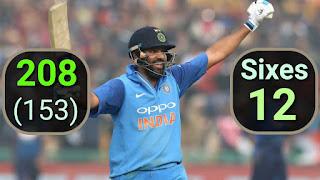 Rohit Sharma 208 vs Sri Lanka | 3rd Double Hundred Highlights