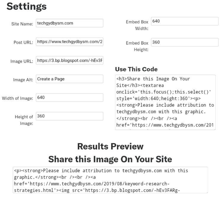 Siege Media Embed Code Generator