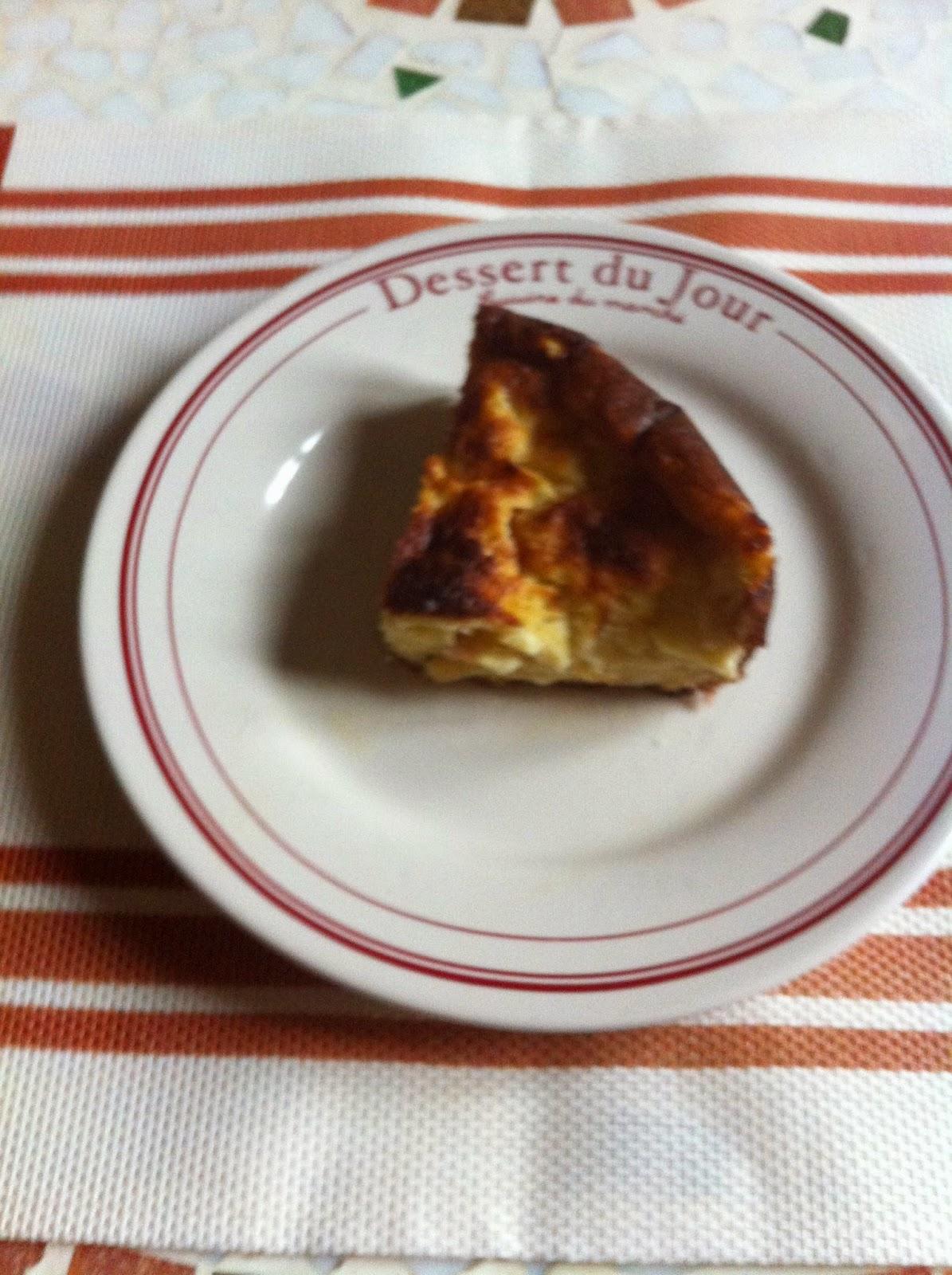 Pudding aux pommes (léger)