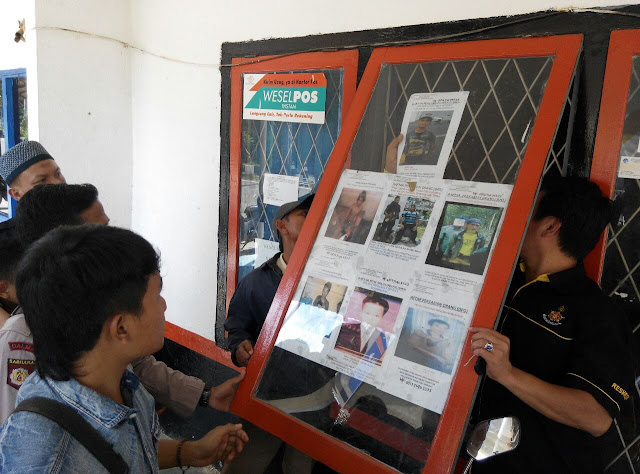 Buru Penjahat, Polsek Talang Ubi Pampangkan Muka 7 DPO