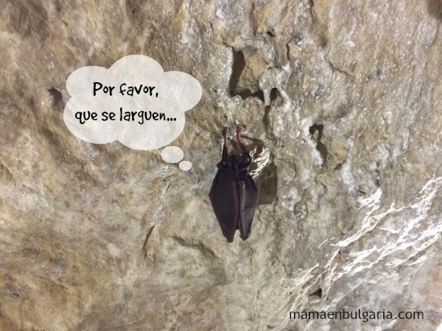 murciélago cueva Snezhanka Bulgaria