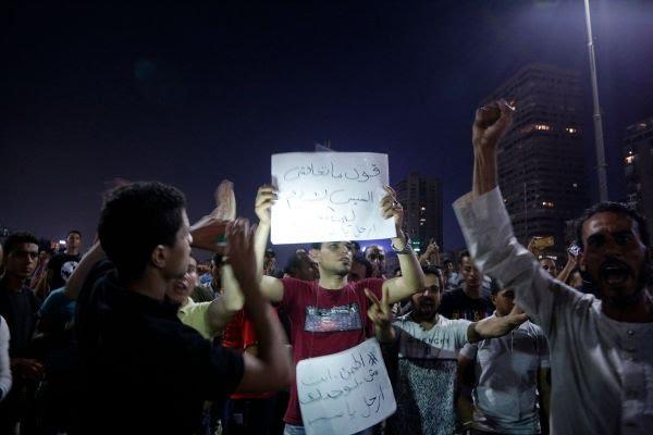 Kondisi Mesir Memanas, Rakyat Meminta Al-Sisi Mundur