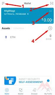 Cara Membuat & Menggunakan Wallet ERC20 di ImToken [UPDATED]