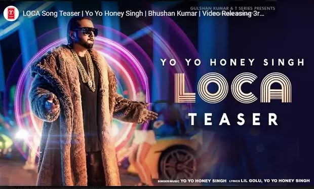 लोका लोका Loca Loca Lyrics in hindi-Yo Yo Honey Singh