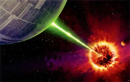 Guerra nas Estrelas - Destruição de Alderaan