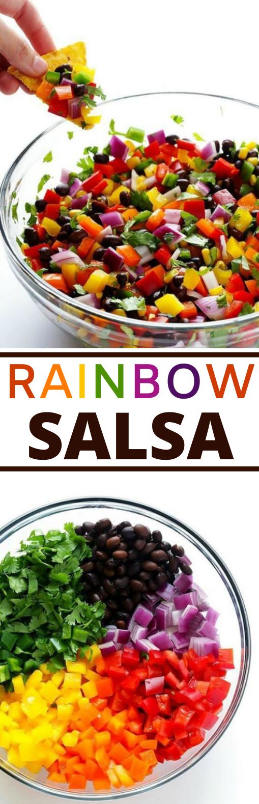 Rainbow Salsa #vegan #healthy #glutenfree #paleo #sidedish