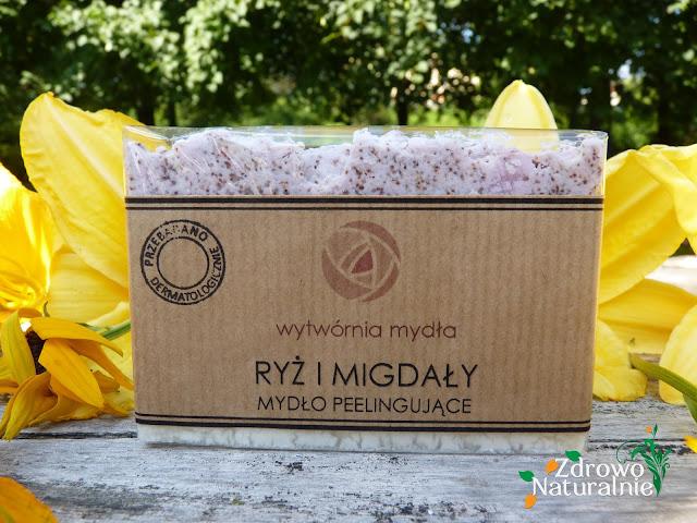 Wytwórnia Mydła - Mydło peelingujące ryż i migdały