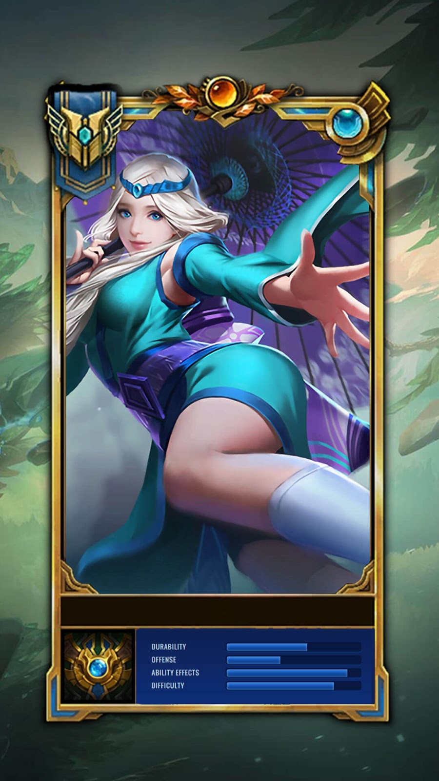 Wallpaper Kagura Onmyouji Master Skin Mobile Legends Full HD for Android and iOS