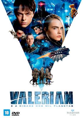 Filme Poster Valerian e a Cidade dos Mil Planetas