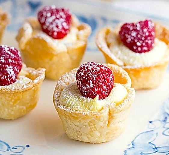 Lemon Tartlets #desserts #cupcakes