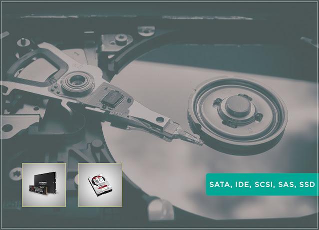 SATA-IDE-SCSI-SAS-SSD