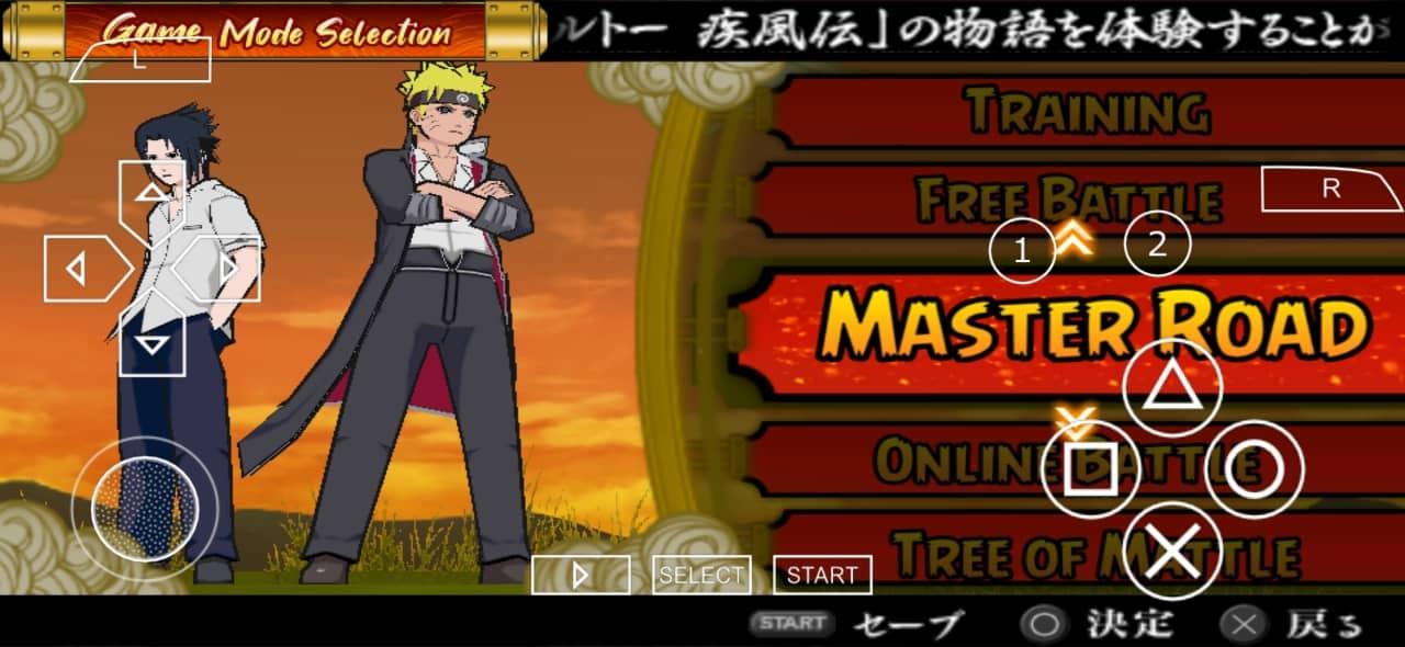 Naruto Ultimate Ninja Accel 3 Mod