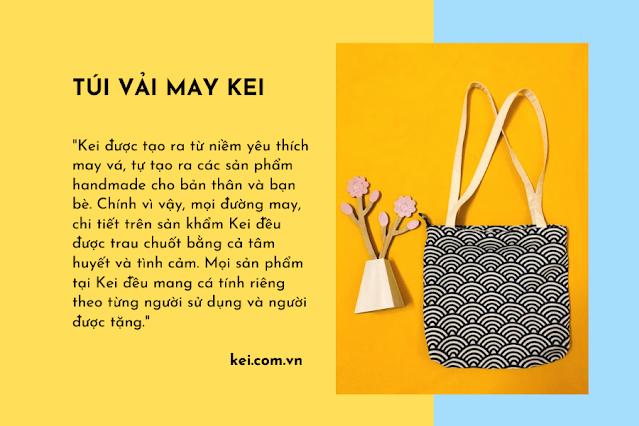 túi vả không dệt Kei.com.vn