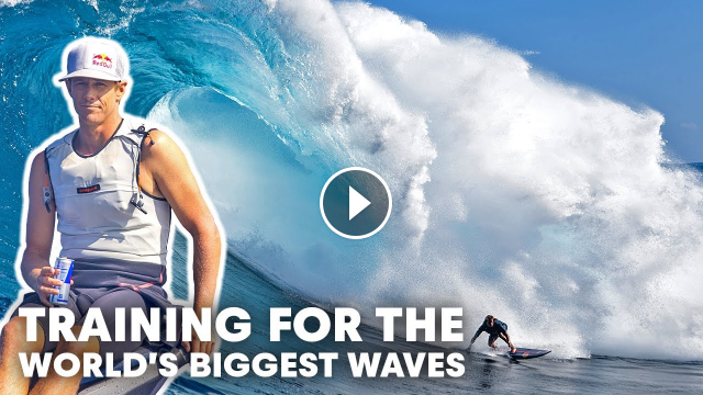 Kai Chumbo And An Elite Crew Of Surfers Team Up To Train For Surviving Huge Surf