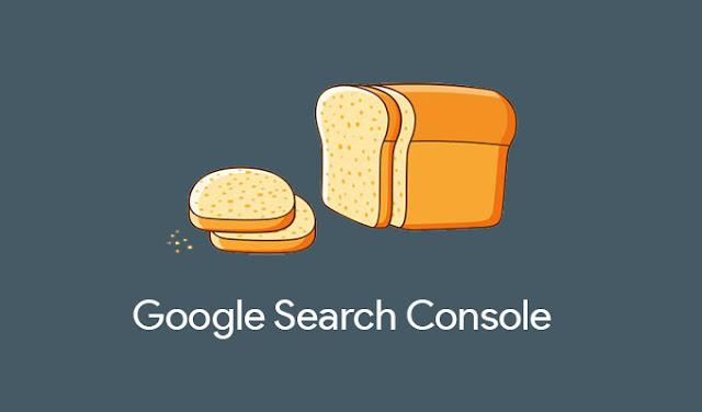 Breadcrumb Google Search Cosole