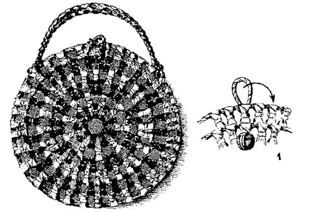 сумка из листьев кукурузы
