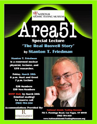 The Real Roswell Story By Stanton Friedman at The National Atomic Testing Museum