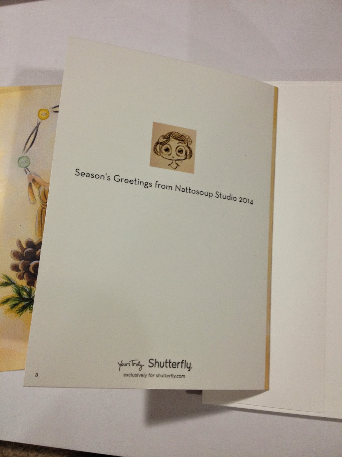 Nattosoup Studio Art and Process Blog: Christmas Card Showdown ...