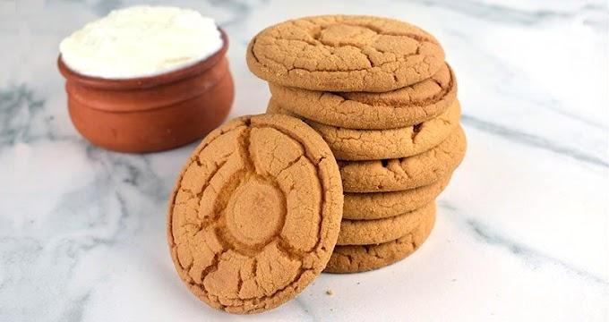 Υγιεινά μπισκότα με γιαούρτι