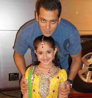 Jannat Zubair With Salman Khan