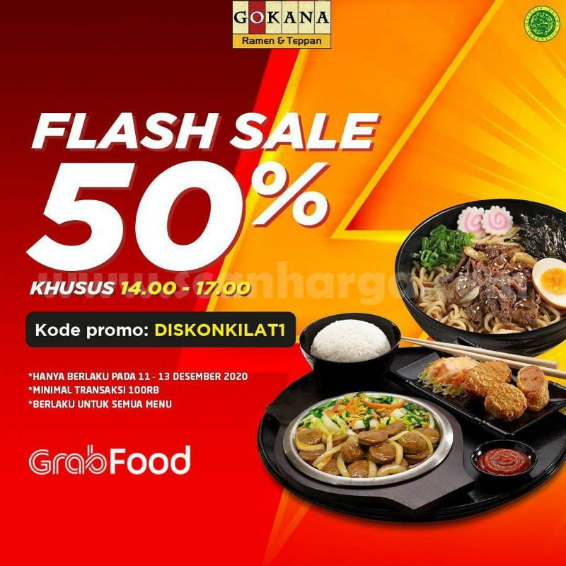 Gokana Promo 12.12 Diskon Flash Sale Harbolnas