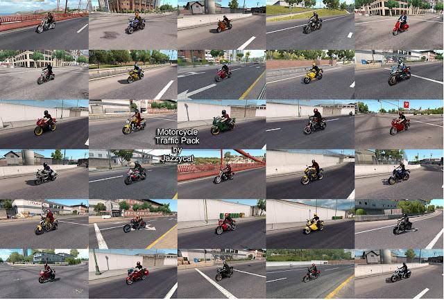 ats motorcycle traffic pack v2.5 screenshots 2
