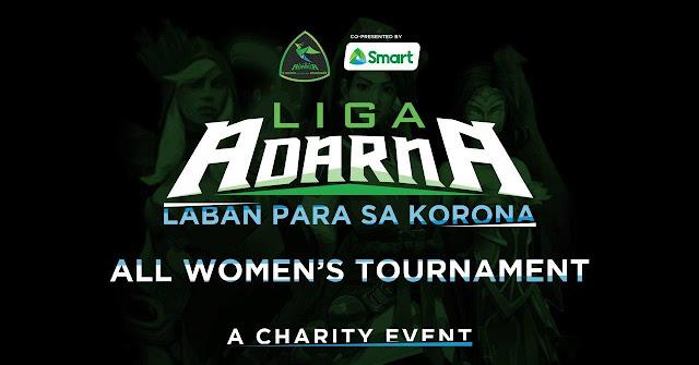 Smart powers all-female esports league 'Liga Adarna: Laban Para Sa Korona' for COVID-19 initiatives