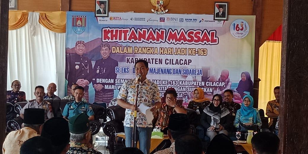140 Anak di Majenang Ikuti Sunat Masal Dalam Rangka Hari Jadi ke 163 Kabupaten Cilacap