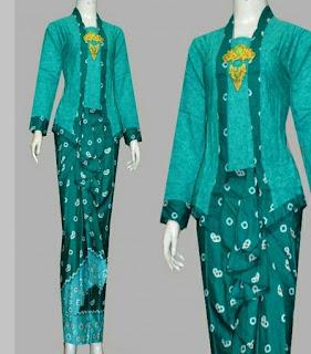 model baju muslim batik terbaru