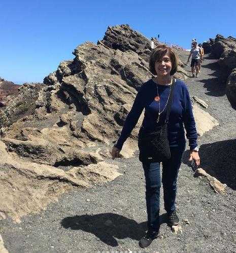 Hike to San Antonio Volcano, La Palma, Canary Islands.