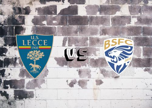 Lecce vs Brescia   Resumen