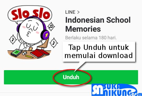 sukanikung.com - cara menggunakan sticker line untuk dekorasi foto - nikmati dan gunakan teknologi secara maksimal - tips trik android dan penggunaan internet