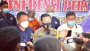 Polisi OTT Oknum Kepala Dinas Sosial Pemkab Serdang Bedagai