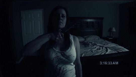 Paranormal Activity Katie Demon Face