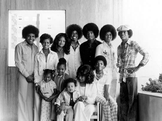 The Jackson Family Photo 1975