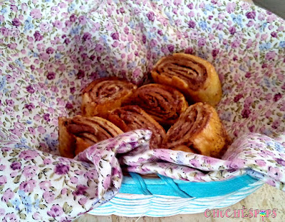 Recetas de Rollitos de Canela y Nutella