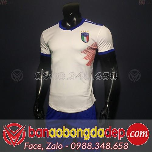 Áo Đội Tuyển Ý Trắng 2019 2020