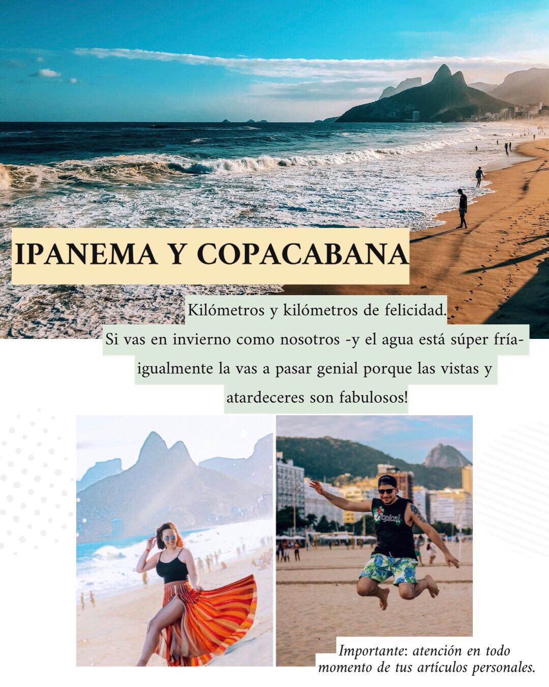 ipanema y Copacabana