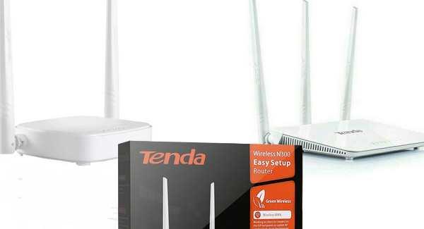 Setting password wifi tenda