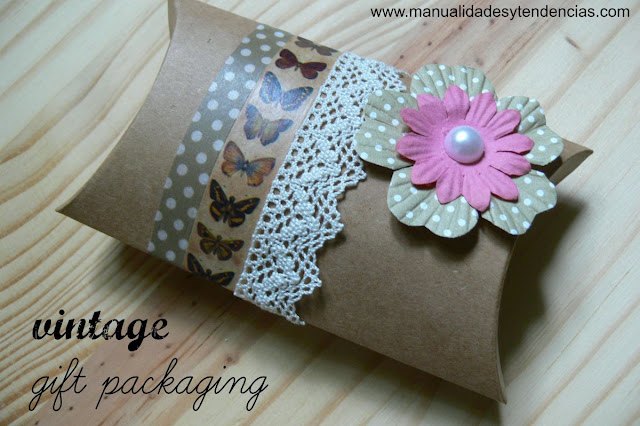 vintage gift packaging