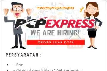 Lowongan Kerja Bandung Driver Luar Kota PCP Express