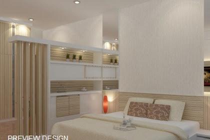Jasa design bedroom interior Apartemen Murah Berkualitas