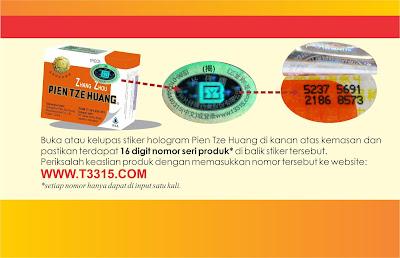 Cek Keaslian Obat Pien Tze Huang di Sini