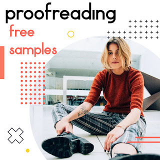 proofreading services -- free samples 2021