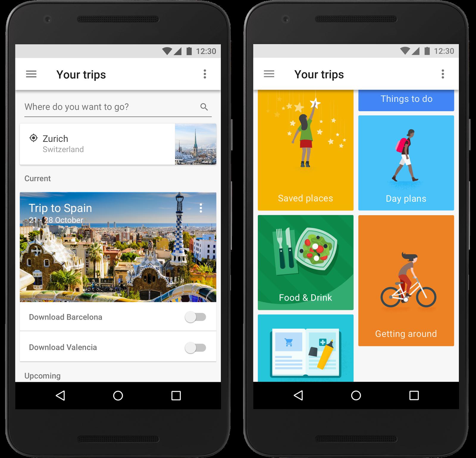 Google Trips aiuta a pianificare i propri viaggi
